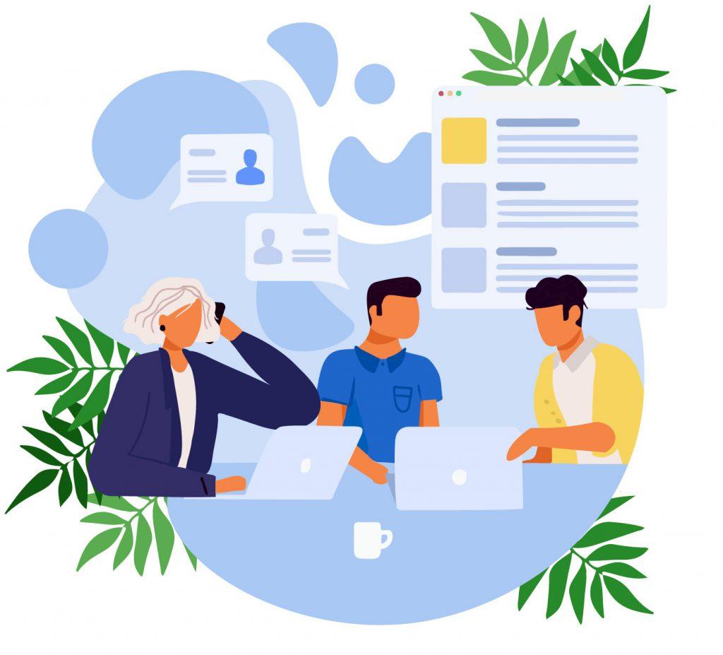 arbeiten in virtuellen Teams | communicate